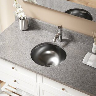 Looking for Stainless Steel Circular Undermount Bathroom Sink ByMR Direct