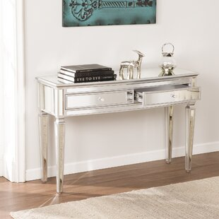 Elosie Mirrored Console Table