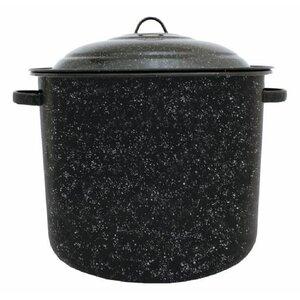 Graniteware Stock Pot with Lid