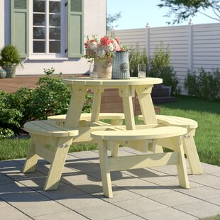 Marblehead Picnic Bench By Sol 72 Outdoor