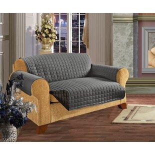 Reversible T-Cushion Sofa Slipcover