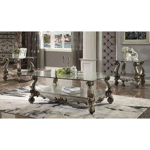 Astoria Grand Welton 3 Piece Coffee Table Set