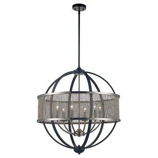 Wrought Studio Mattias 6-Light LED Globe Chandelier
