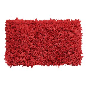 Kaylyn Hand-Knotted Red Area Rug