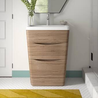 Ivy Bronx Sangiacomo 25 Single Bathroom Vanity Set Wayfair Ca