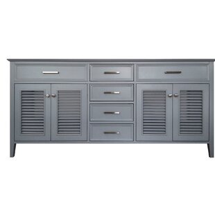 Ferree 73 Double Bathroom Vanity Base Only By Highland Dunes