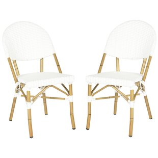 Nergizli Stacking Patio Dining Chair (Set of 2)