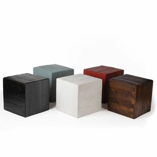 Modern contemporary cube side table allmodern save watchthetrailerfo