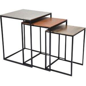3tlg. Satztisch-Set Loft Vintage von KARE Design