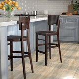 Featherston 30 Bar Stool by Red Barrel Studio®