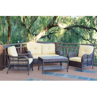 Cromwell 4 Piece Sofa Set with Cushions
