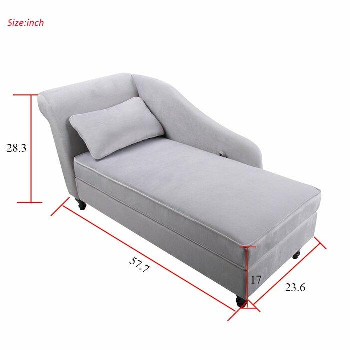 Swell Schaefer Storage Chaise Lounge Ibusinesslaw Wood Chair Design Ideas Ibusinesslaworg