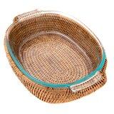 Oval Baker Wicker/Rattan Basket