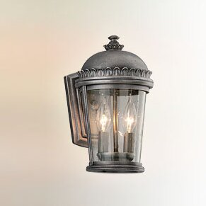 Find for Treyton 2-Light Outdoor Wall Lantern By Bloomsbury Market