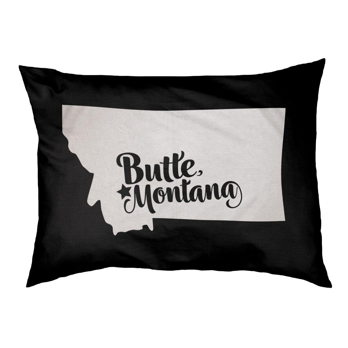East Urban Home Butte Montana Designer Pillow Wayfair