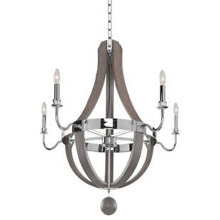 Sharlow 5-Light Empire Chandelier by Kalco