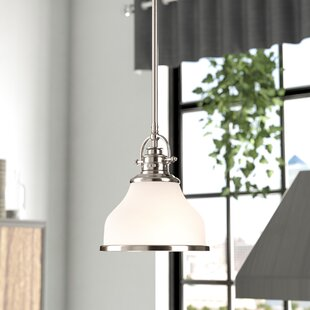 Hartman 1-Light Dome Pendant b..