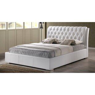 Latitude Run Zack Upholstered Platform Bed