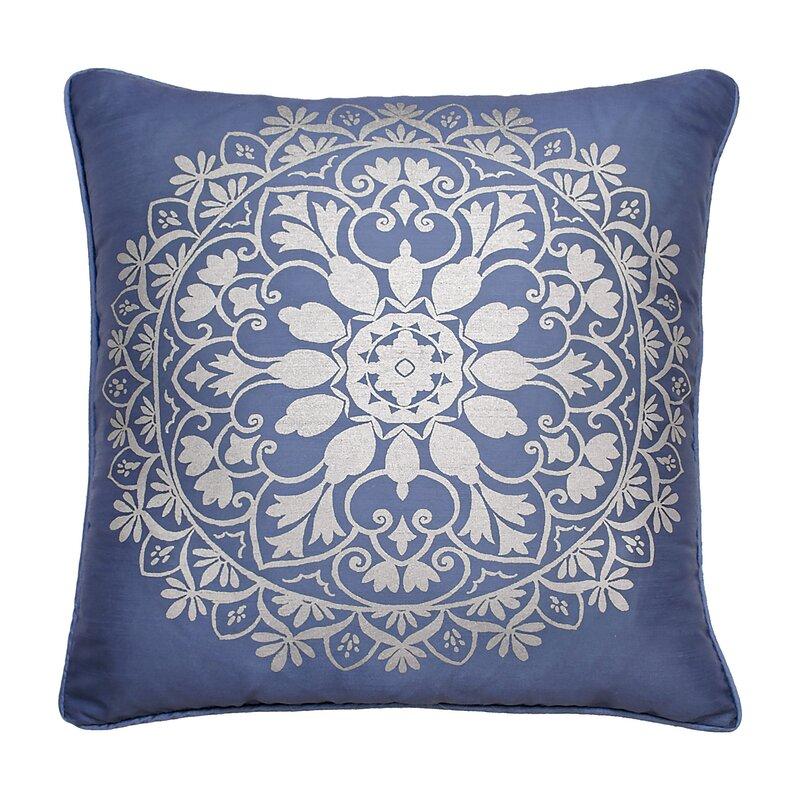 Beautyrest Indochine Foil Throw Pillow Wayfair