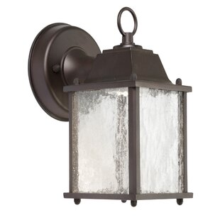 Compare Alfonso LED Outdoor Wall Lantern By Charlton Home