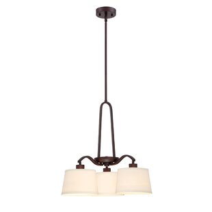 Designers Fountain Studio 3-Light Shaded Chandelier