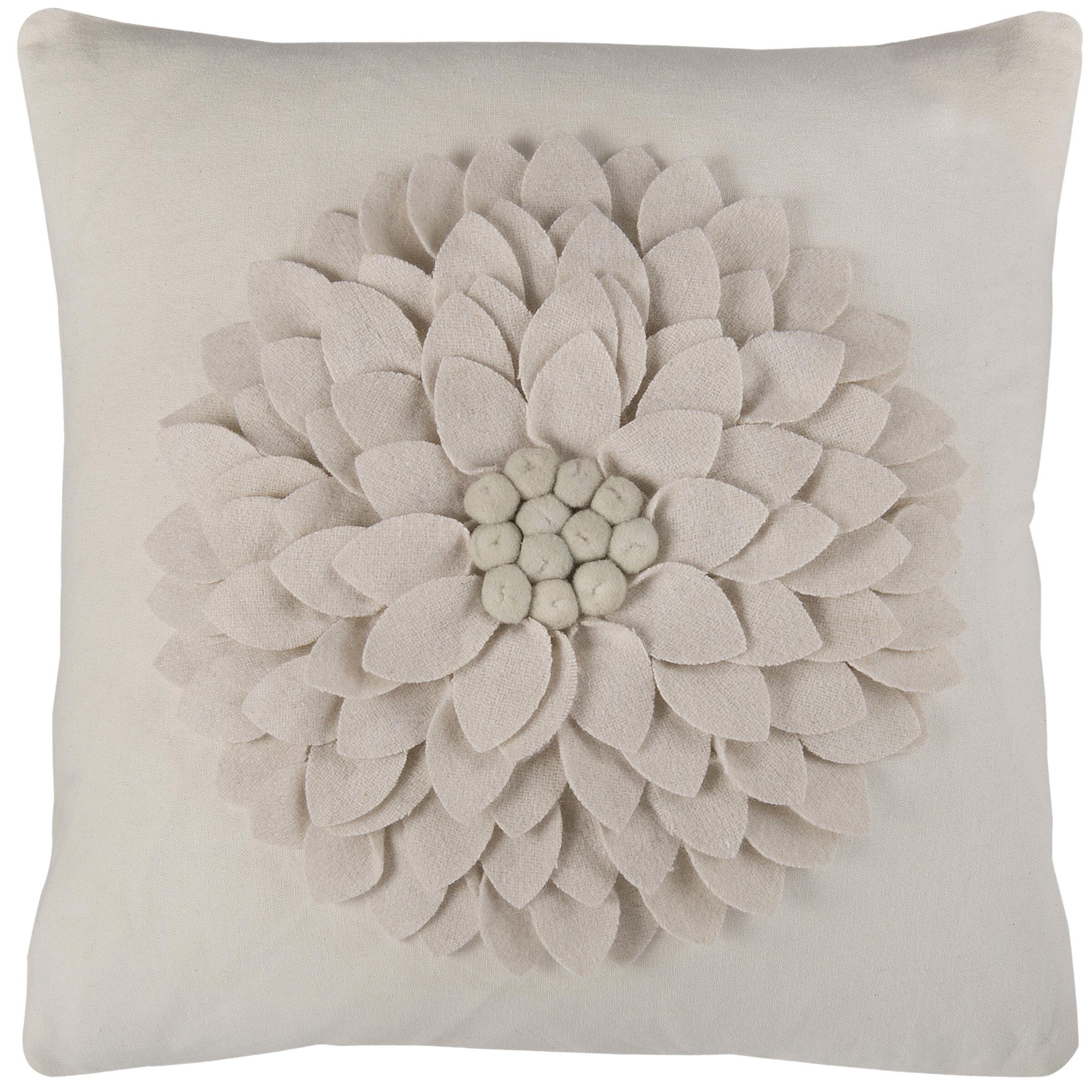 Ivory Cream Wildon Home Throw Pillows You Ll Love In 2021 Wayfair
