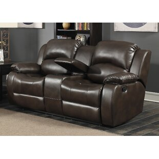 Samara Transitional Reclining Loveseat by AC Pacific