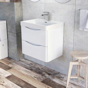 Stanhope 600mm Wall Mounted Single Vanity Unit By Belfry Bathroom