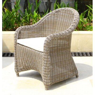 Brown Wicker Amp Rattan Patio Dining Chairs You Ll Love In