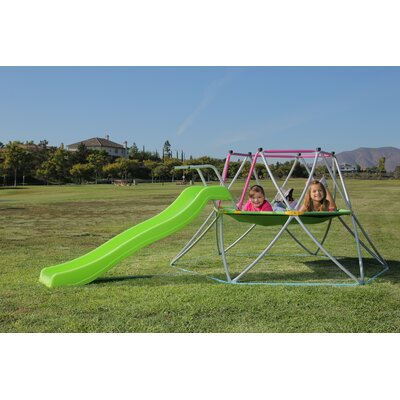 Slide Whizzer Dome Climber and Slide