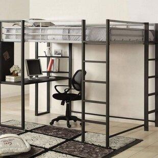 Cevenola Loft Bed with Desk