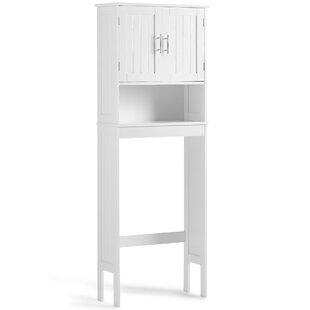 Etagere 23.1 W x 62.5 H Over the Toilet Storage by VonHaus