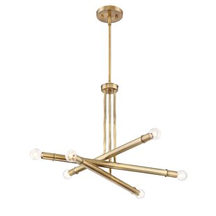 Mercer41 Shreya 3-Light Sputnik Chandelier