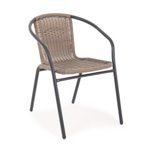 Alaksm Stacking Garden Chair By 17 Stories
