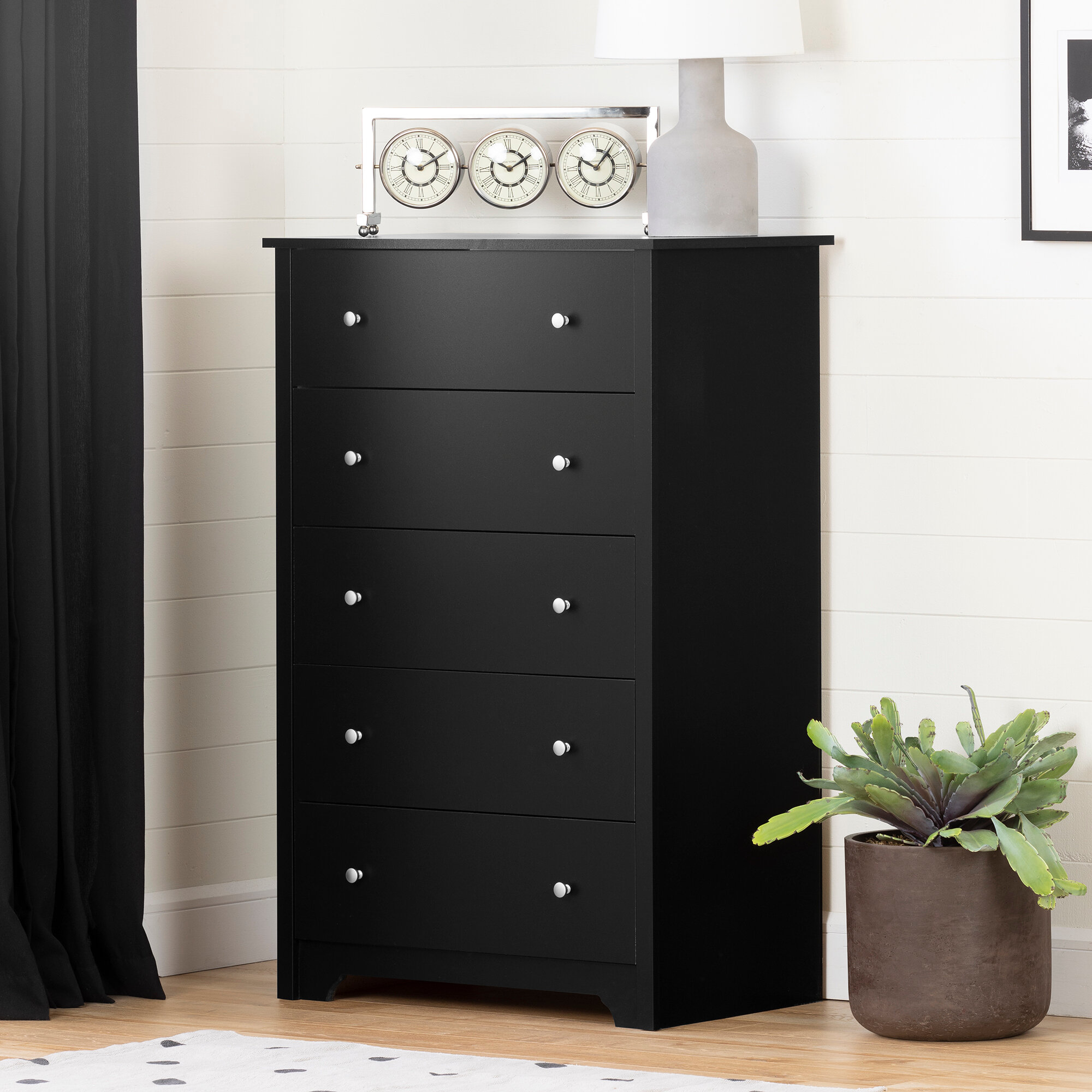 Black Clear Dressers Chests You Ll