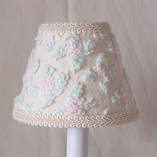 Price comparison Chenille Magic Rosebud 11 Fabric Empire Lamp Shade By Silly Bear Lighting