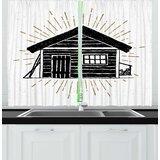 Cabin Kitchen Curtains | Wayfair
