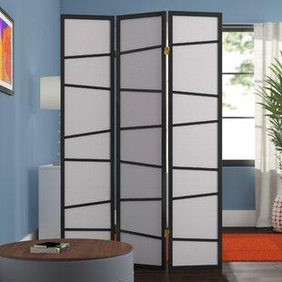 Affordable Rafael 3 Panel Room Divider ByZipcode Design