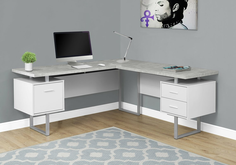 Darroll L-Shape Corner Desk