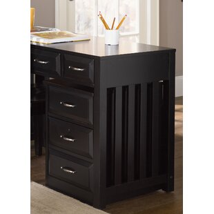 Darby Home Co Nicolette 3-Drawer Mobile File Cabinet