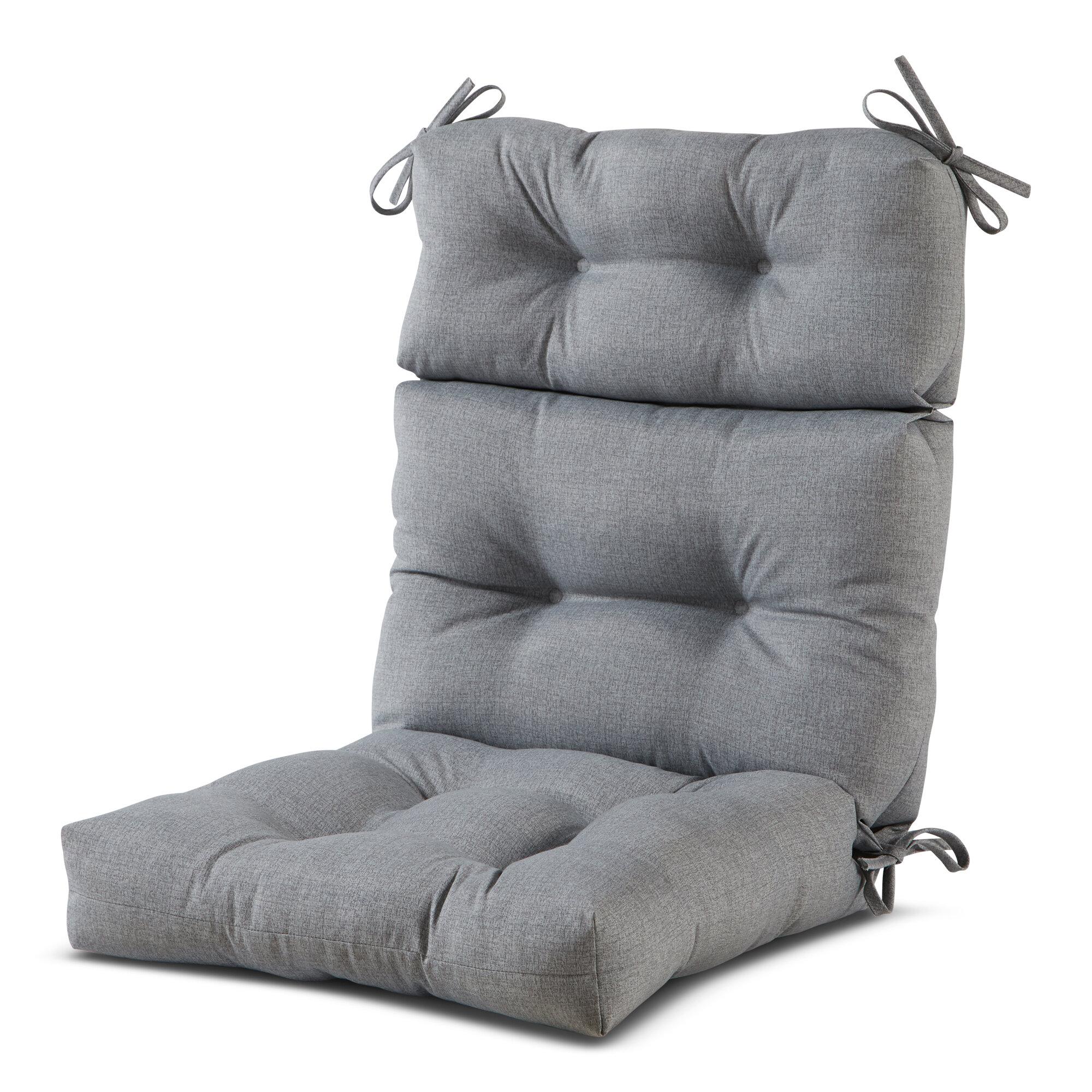 Ebern Designs High Back Outdoor Lounge Chair Cushion Reviews Wayfair
