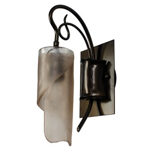 Shery 1-Light Bath Sconce by World Menagerie