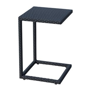 Onyx C Wicker Side Table