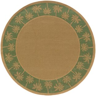 Maggie Beige/Green Indoor/Outdoor Area Rug