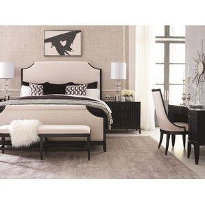 Jessenia Upholstered Panel Customizable Bedroom Set