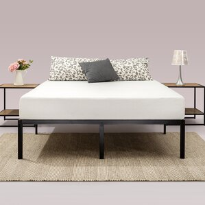 classic metal platform bed frame - Metal Bed Frames