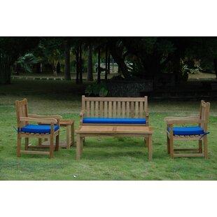 Farnam 5 Piece Teak Sofa Seating Group