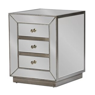 House of Hampton Brooksville 3 Drawer Nig..