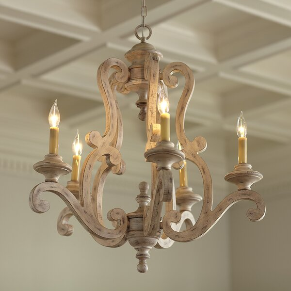 Brighton 5 light candle style chandelier joss main brighton 5 light candle style chandelier aloadofball Gallery