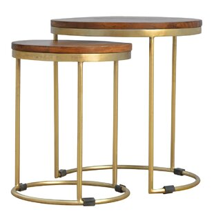 Cirincione 2 Piece Stool Set By Bloomsbury Market
